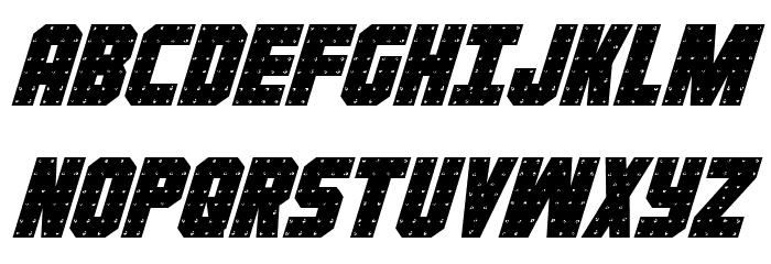Iron Forge Italic Font UPPERCASE