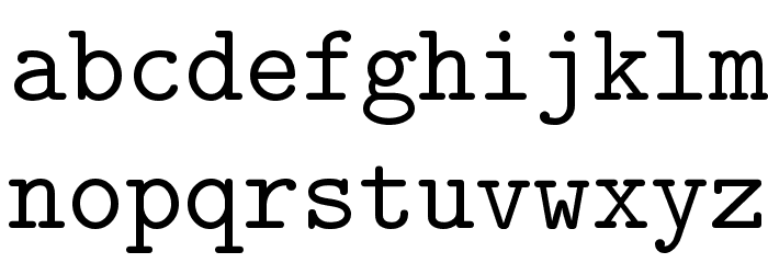 Isotype Regular Font LOWERCASE