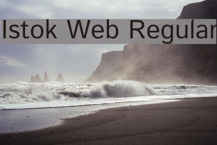 Istok Web Regular Font examples