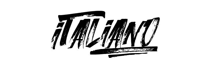Italiano  Font