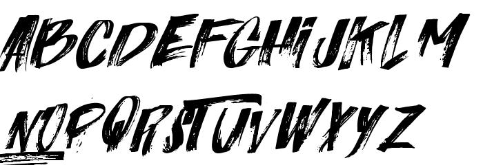 Italiano  Font LOWERCASE