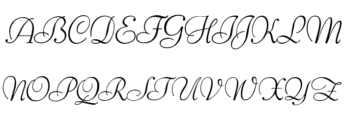 Ithuriel Demo Font UPPERCASE