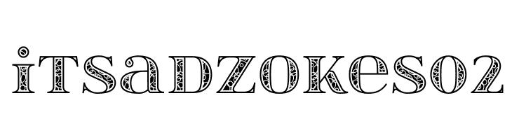 itsadzokeS02  Fuentes Gratis Descargar