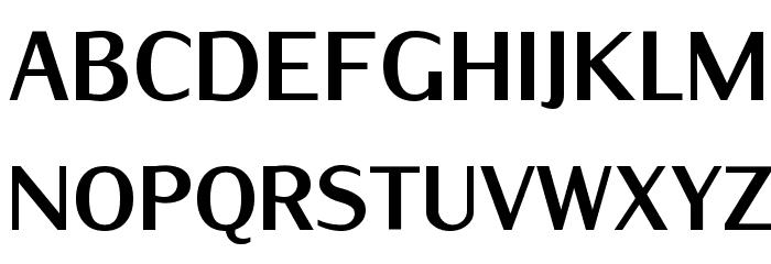 IwonaCondHeavy-Regular Font UPPERCASE