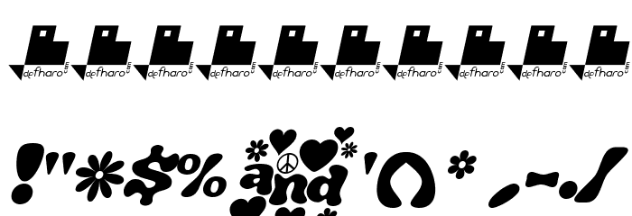 J. Airplane swash Italic Fonte OUTROS PERSONAGENS
