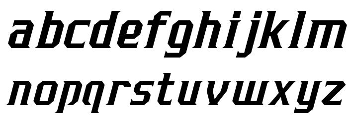 J-LOG Razor Edge Serif Normal Italic Font LOWERCASE