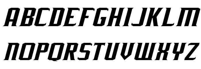 J-LOG Rebellion Serif Normal Italic Font UPPERCASE
