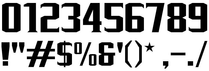 J-LOG Rebellion Serif Normal Font OTHER CHARS