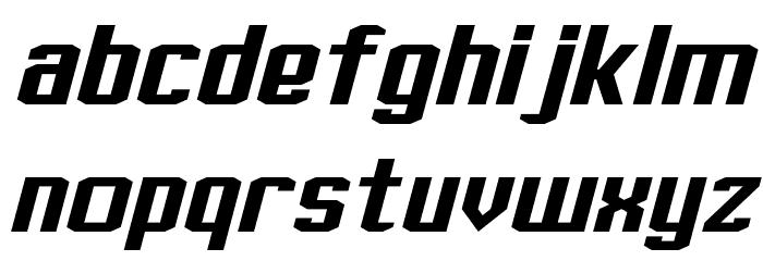 J-LOG Rebellion Slab Sans Normal Italic Font LOWERCASE
