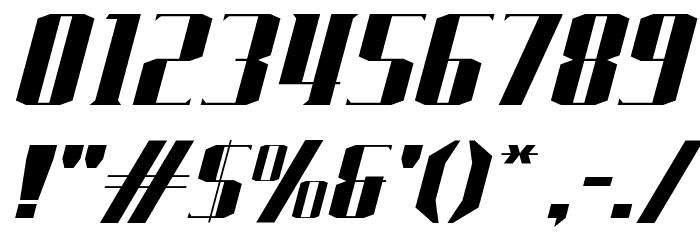 J-LOG Starkwood Serif Normal Italic Font OTHER CHARS