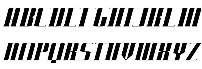 J-LOG Starkwood Serif Normal Italic Font UPPERCASE