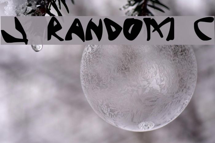 J Random C Fonte examples