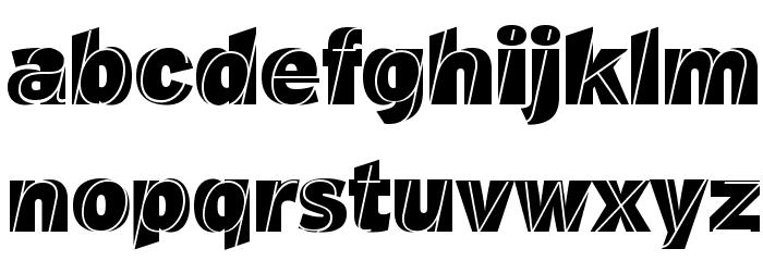 J.M. Nexus Grotesque Font LOWERCASE