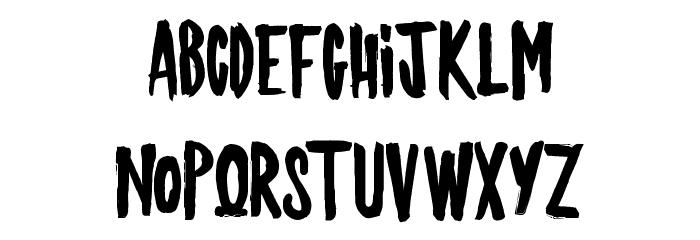 JACKYSHOW Font LOWERCASE