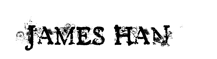JAMES HAN  नि: शुल्क फ़ॉन्ट्स डाउनलोड