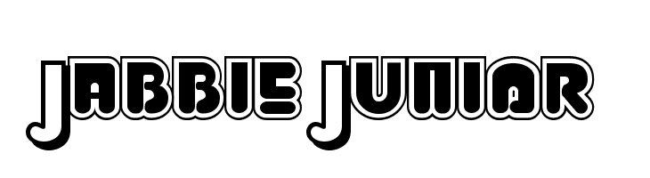 Jabbie Junior  Descarca Fonturi Gratis