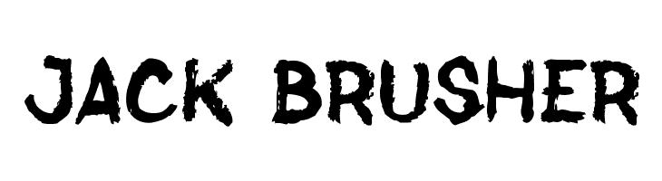 Jack Brusher  Fuentes Gratis Descargar