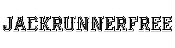 JackRunnerFree  Free Fonts Download