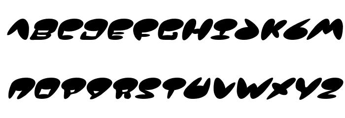 Jackson Italic Font UPPERCASE