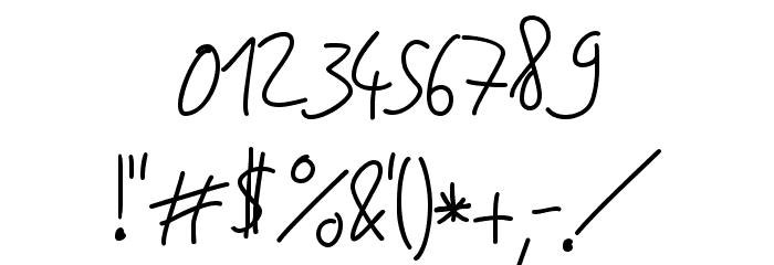 Jakob's Handwriting لخطوط تنزيل حرف أخرى