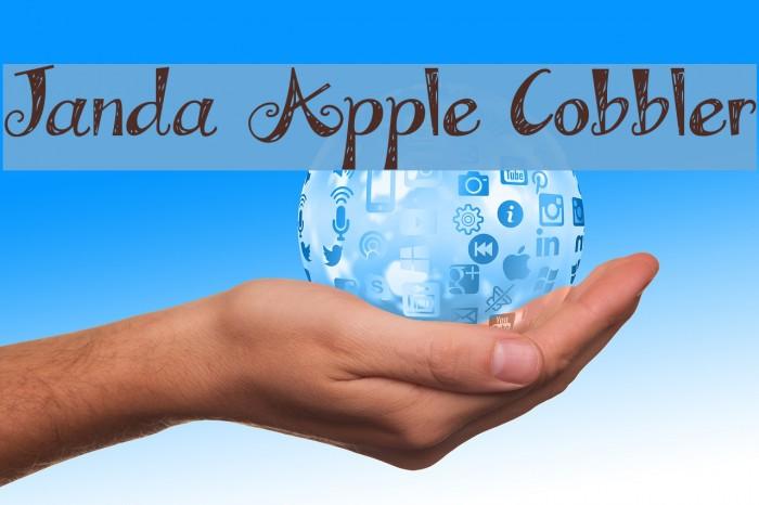 Janda Apple Cobbler Font Ffonts Net