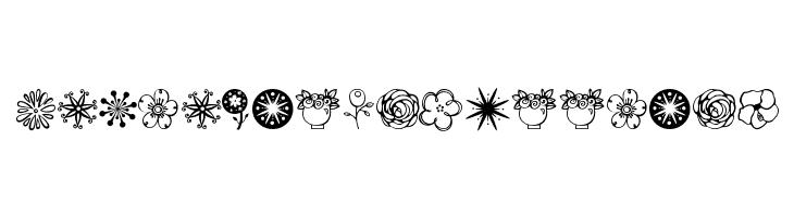 Janda Flower Doodles Fuente Ffonts Net