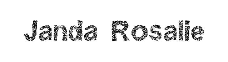 Janda Rosalie  Free Fonts Download
