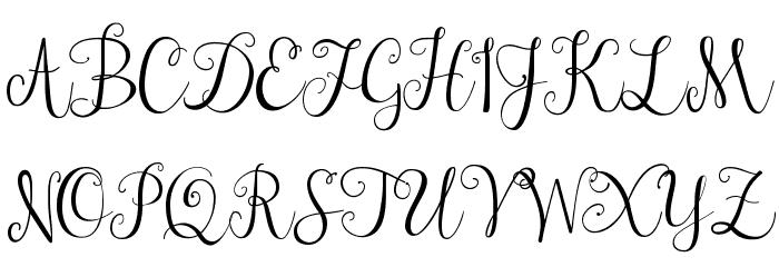 janda stylish script font free download