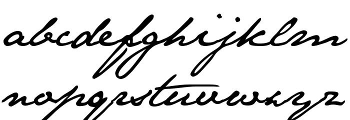 JaneAusten Font LOWERCASE