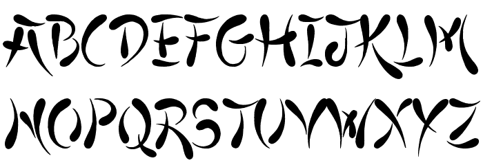 Asian Fonts - Download free TrueType and OpenType fonts