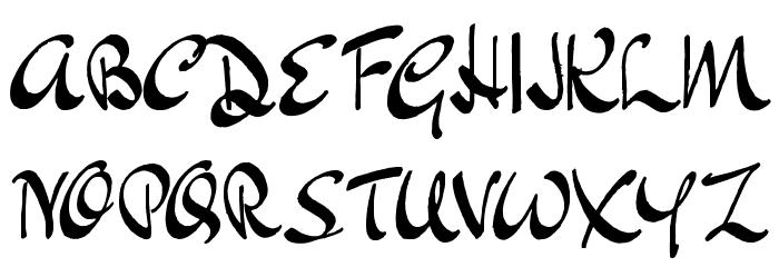 JapaneseTourist Font UPPERCASE