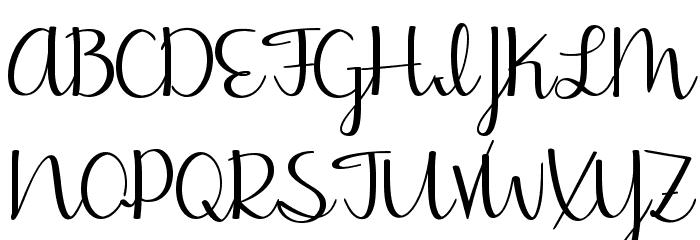Jasmine Reminiscentse Bold Schriftart Groß