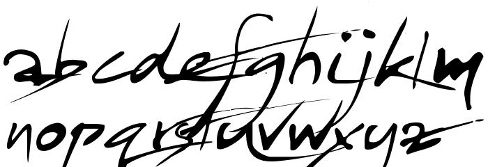 Jayadhira LILA EE 0.1 Font LOWERCASE