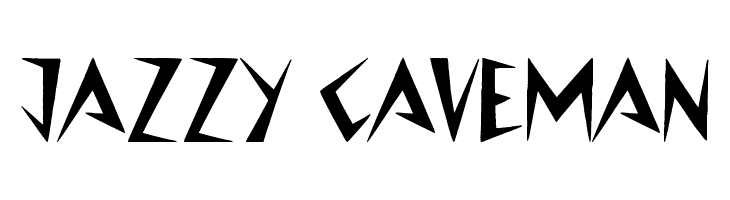 Jazzy Caveman  Free Fonts Download