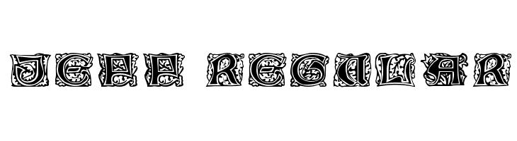 Jeff Regular  Free Fonts Download