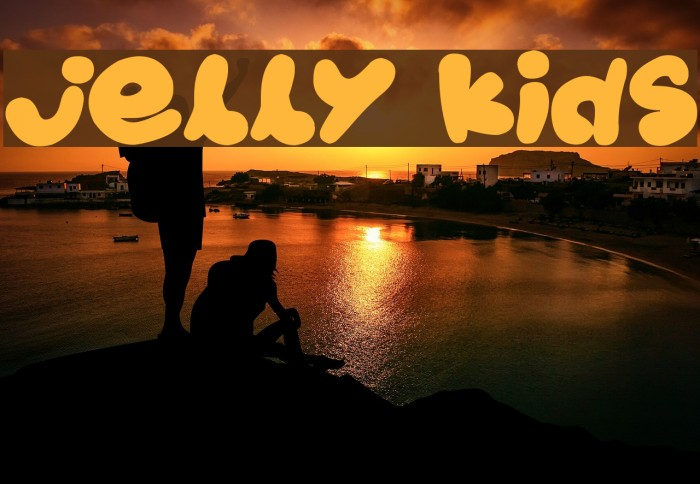 Jelly Kids Font examples