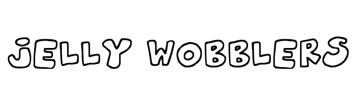 Jelly Wobblers  Free Fonts Download