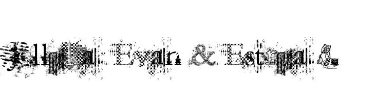 Jellyka  Evan & Estrya >  baixar fontes gratis