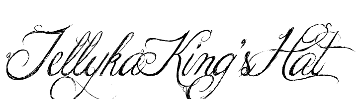 Jellyka King's Hat  Free Fonts Download