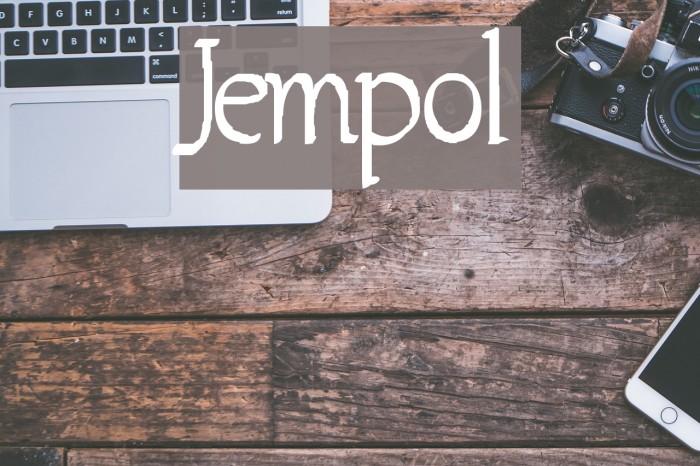 Jempol फ़ॉन्ट examples
