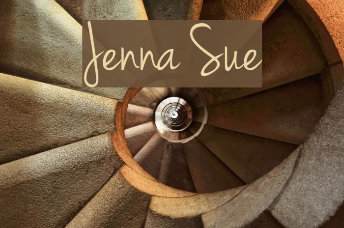 Jenna Sue Font examples