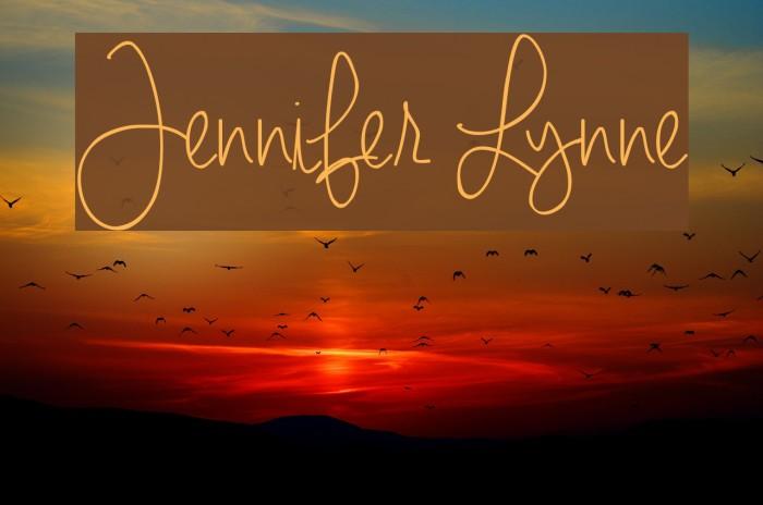 Jennifer Lynne Font examples