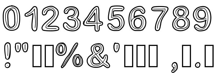 Jesuisdoublee Font OTHER CHARS