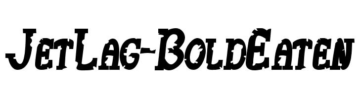 JetLag-BoldEaten  フリーフォントのダウンロード