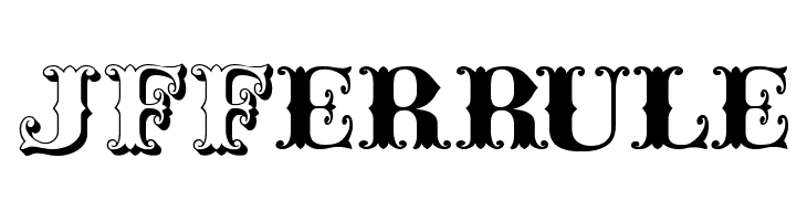 JFFerrule  Скачать бесплатные шрифты