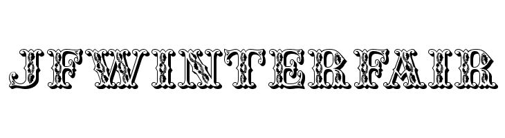 JFWinterFair  Скачать бесплатные шрифты