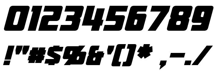 Jhiaxus Bold Italic Шрифта ДРУГИЕ символов