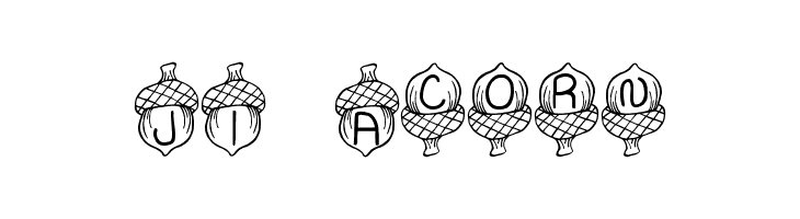 JI Acorn  Free Fonts Download