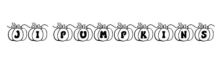 JI Pumpkins  Fuentes Gratis Descargar