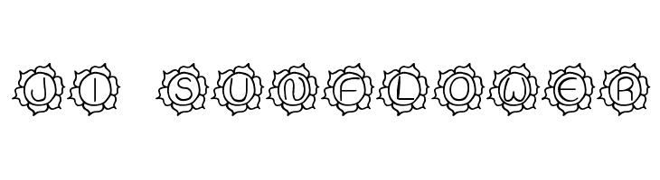 JI Sunflower  Free Fonts Download